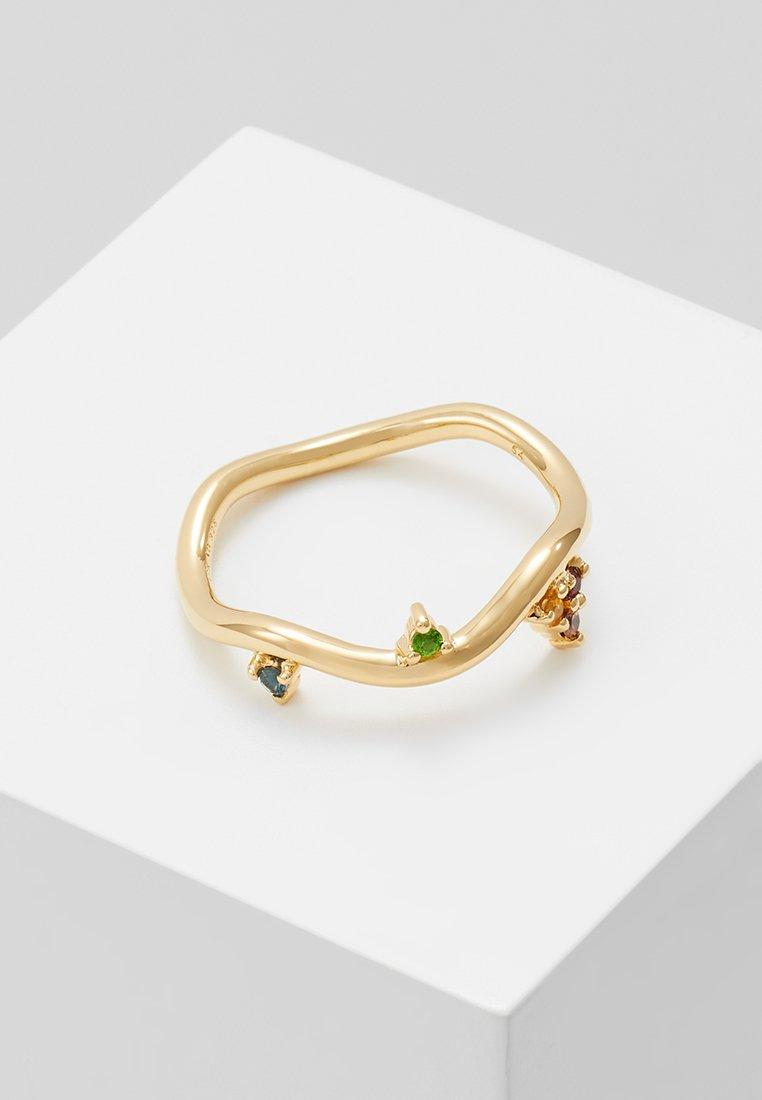 Maria Black - BARKER RAINBOW RING - Bague - gold-coloured