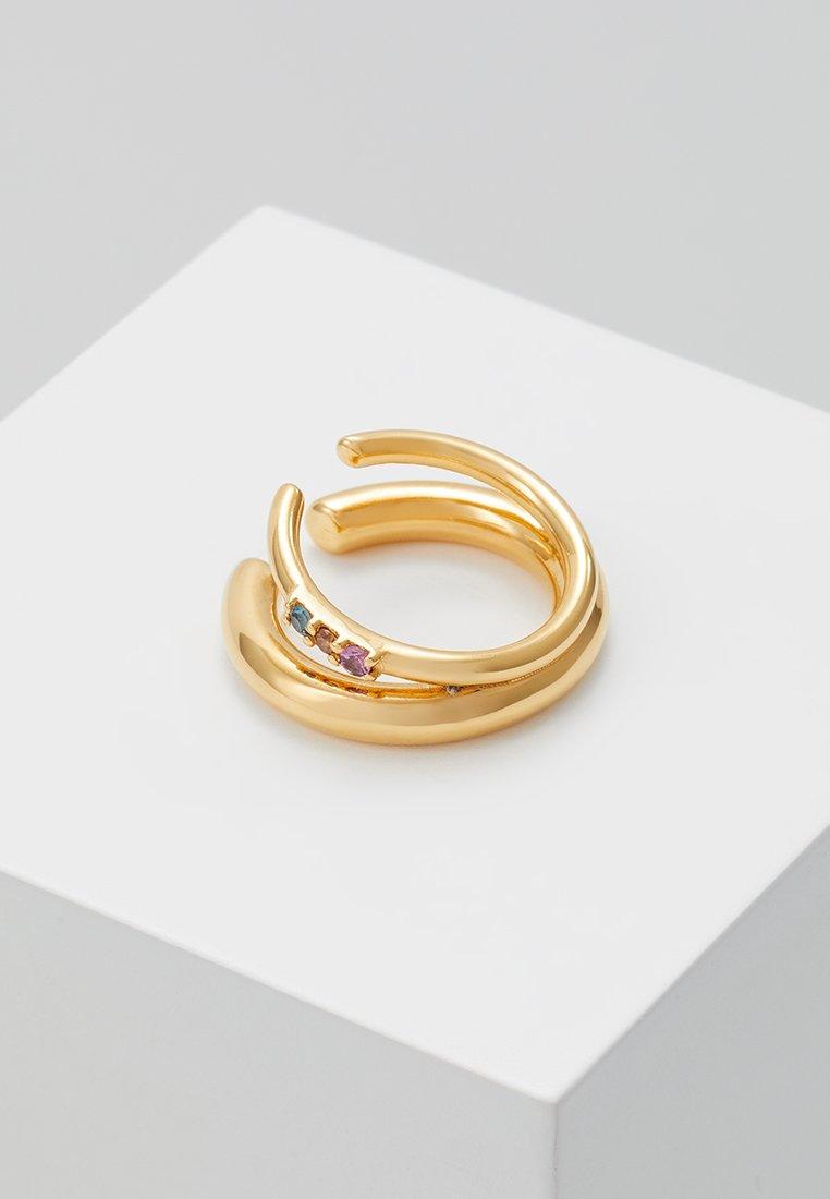 Maria Black - JUSTIN RAINBOW EARCUFF - Oorbellen - gold-coloured