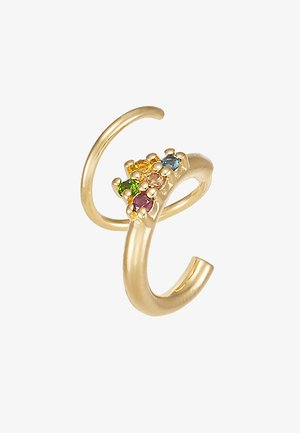 IVERSEN RAINBOW TWIRL RIGHT - Earrings - gold-coloured