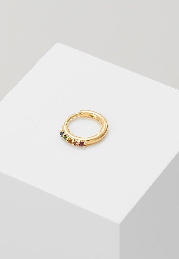 Maria Black - AMINA RAINBOW HUGGIE - Pendientes - gold-coloured