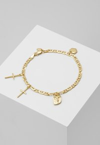 Maria Black - FRIEND CHARM BRACELET MEDIUM - Bracelet - gold-coloured - 0