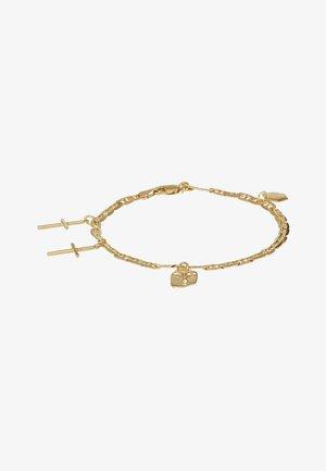 FRIEND CHARM BRACELET MEDIUM - Bracelet - gold-coloured