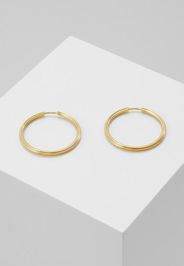 SUNSET HOOP - Earrings - gold-coloured