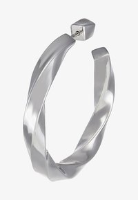 Maria Black - MARTINUS HOOP EARRING - Pendientes - silver-coloured - 4