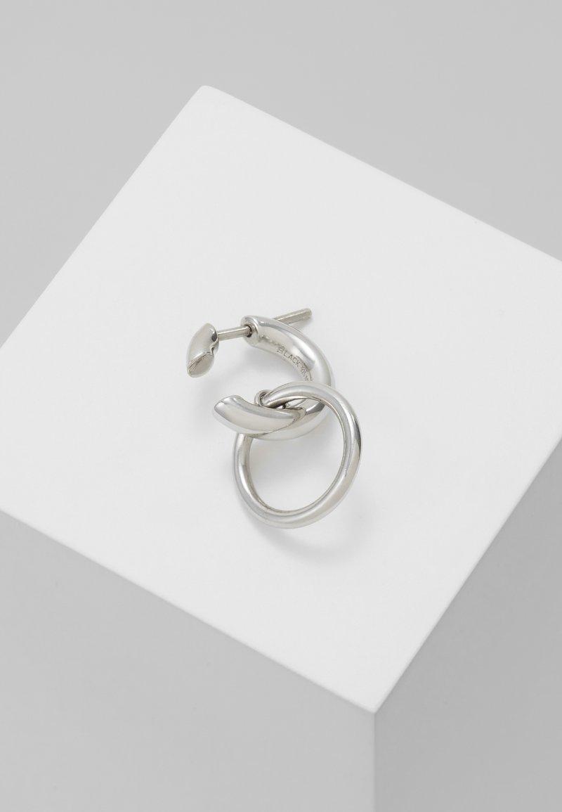 Maria Black - TWIN EARRING - Örhänge - silver-coloured