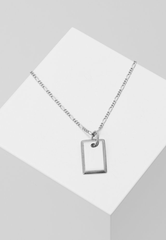 ELIZA NECKLACE - Halskette - silver-coloured