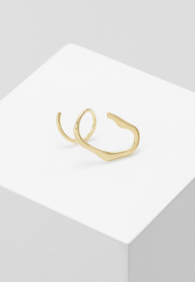 Maria Black - LAKE TWIRL RIGHT - Earrings - gold-coloured