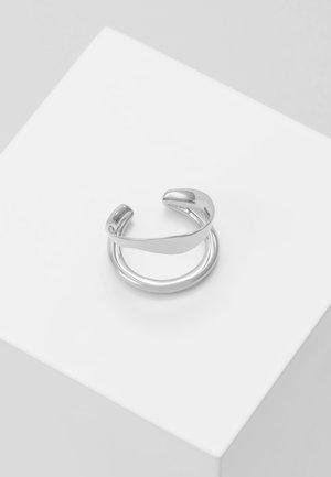 RIPPLES EARCUFF - Ohrringe - silver-coloured