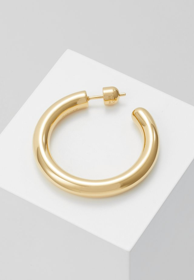 RUBY HOOP EARRING - Korvakorut - gold-coloured