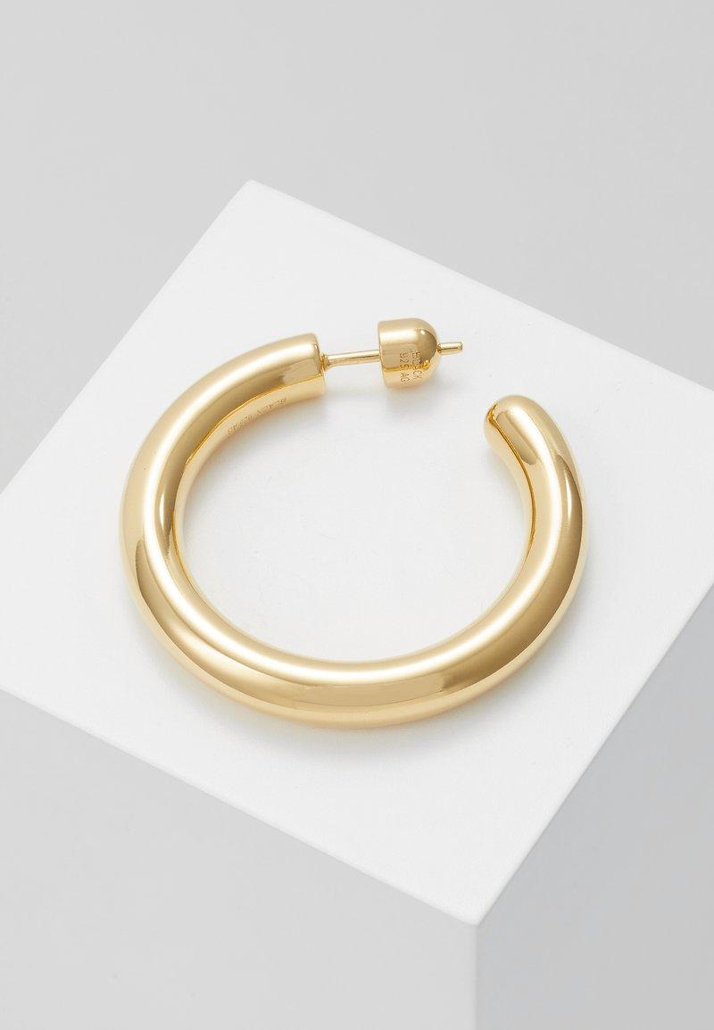 Maria Black - RUBY HOOP EARRING - Kolczyki - gold-coloured