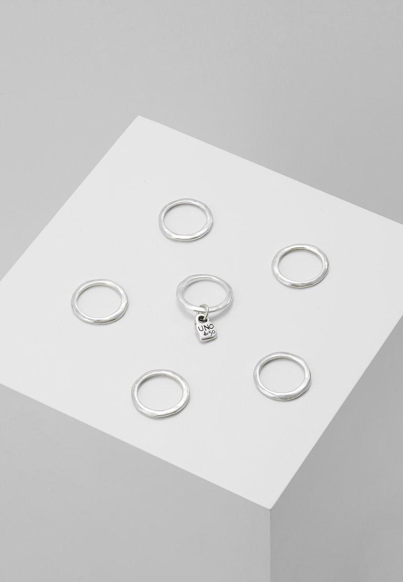 UNOde50 - PRISONER 6 PACK - Sormus - silver-coloured