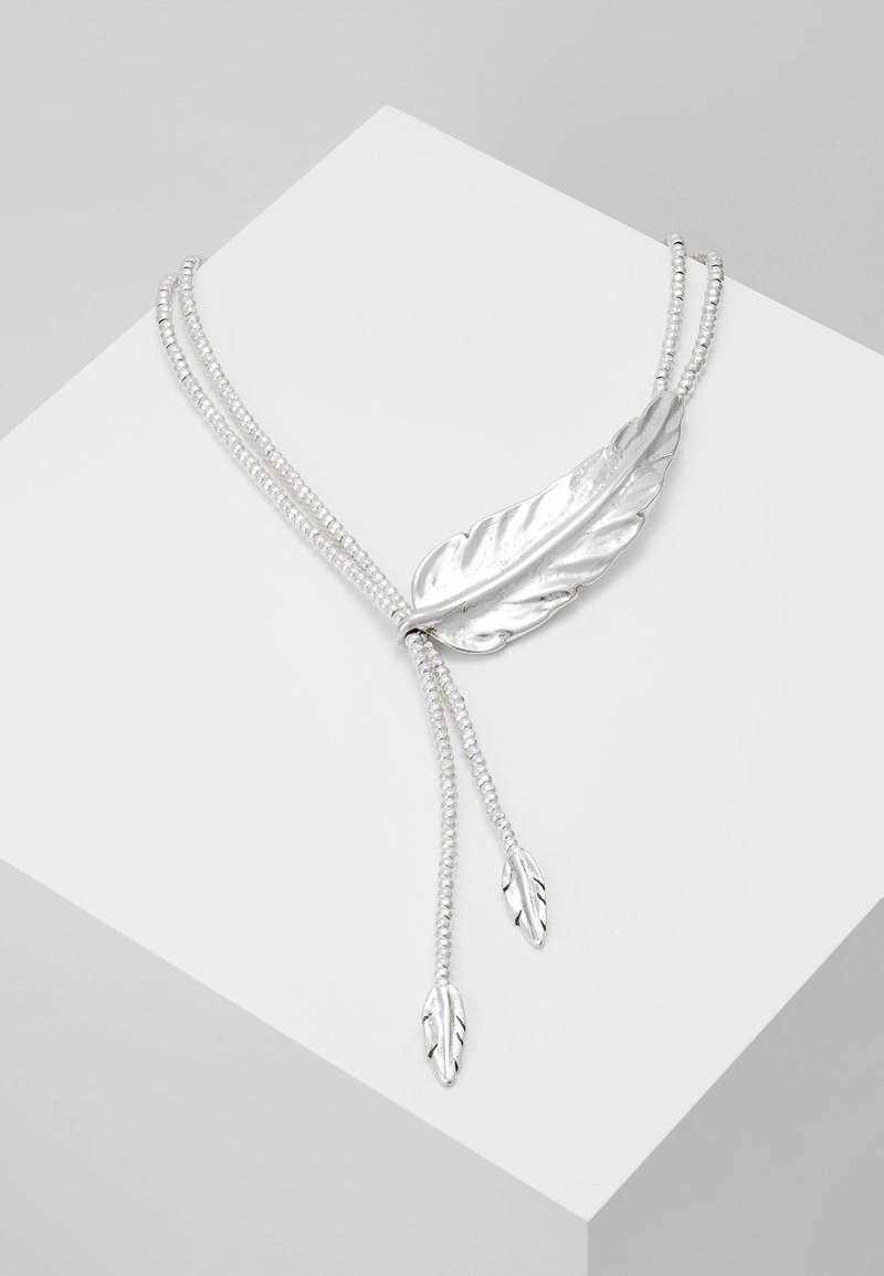 UNOde50 - FEATHER - Halskette - silver-coloured