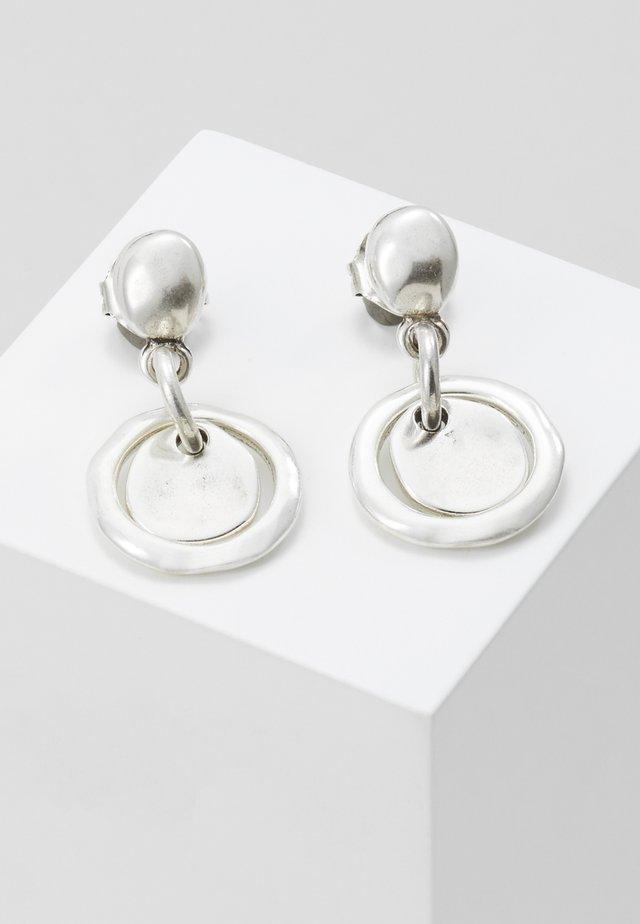 FLAKE - Örhänge - silver-coloured