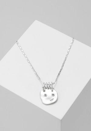 HAPPY HAPPY NECKLLACE - Kaulakoru - silver-coloured