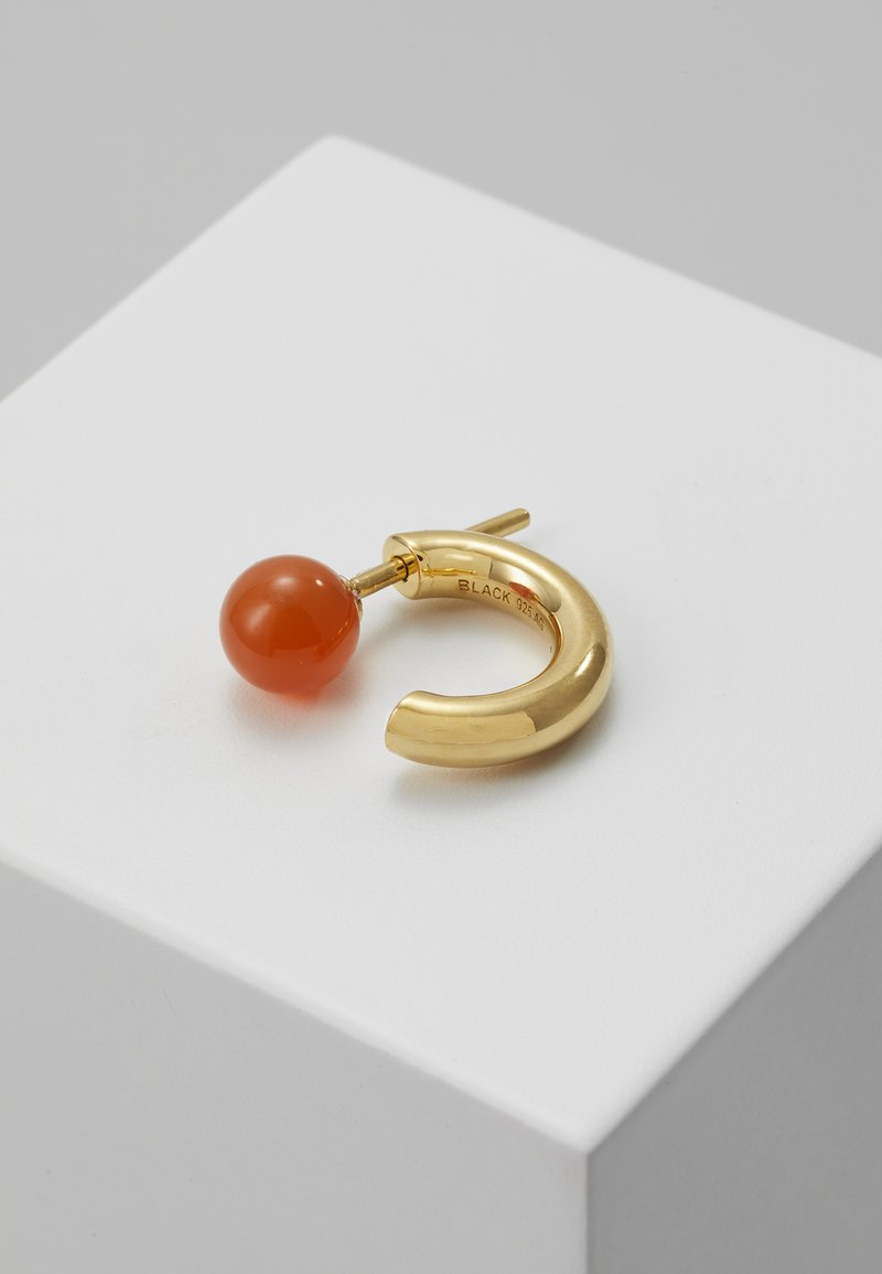 Maria Black - FRIDA EARRING - Korvakorut - gold-colouredred