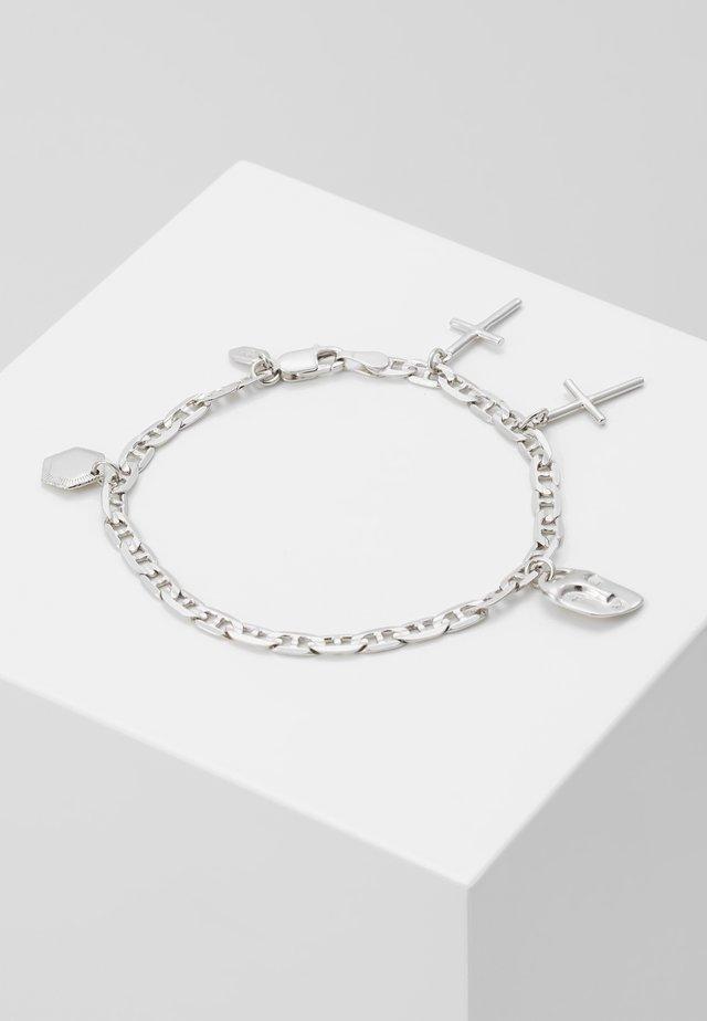 FRIEND CHARM BRACELET SMALL - Armband - silver