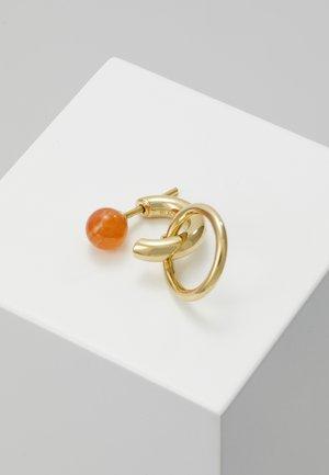 ELVIRA EARRING - Náušnice - gold-coloured/red