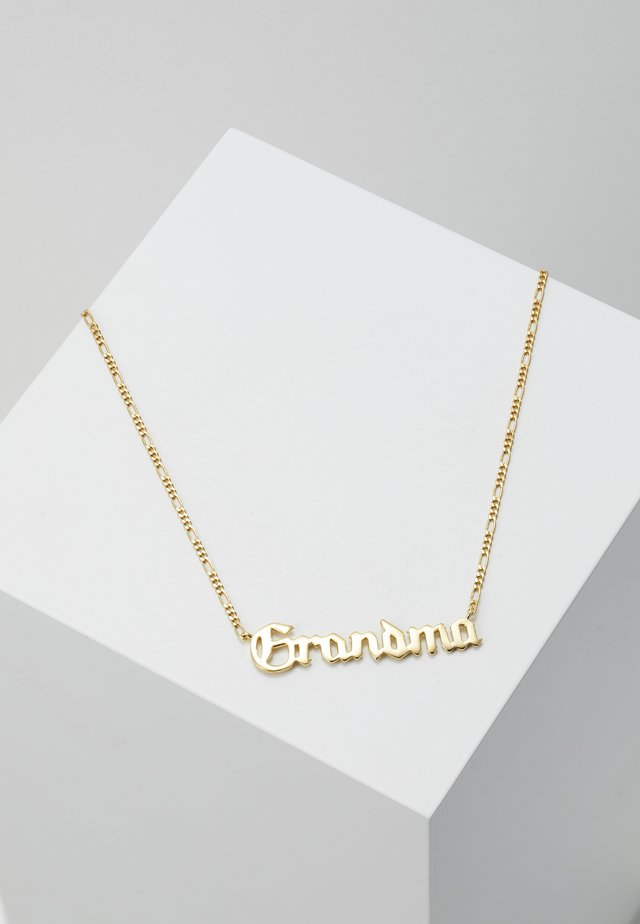 GRANDMA NECKLACE - Halskette - gold-coloured