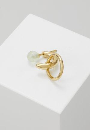 ELVIRA EARRING - Øreringe - gold-coloured/green
