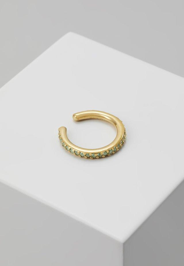 COLORE EAR CUFF MINT - Oorbellen - gold-coloured