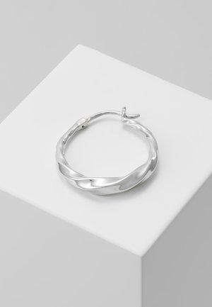 SADIE HOOP EARRING - Øreringe - silver