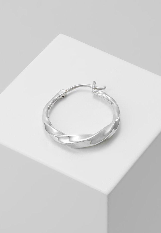 SADIE HOOP EARRING - Náušnice - silver