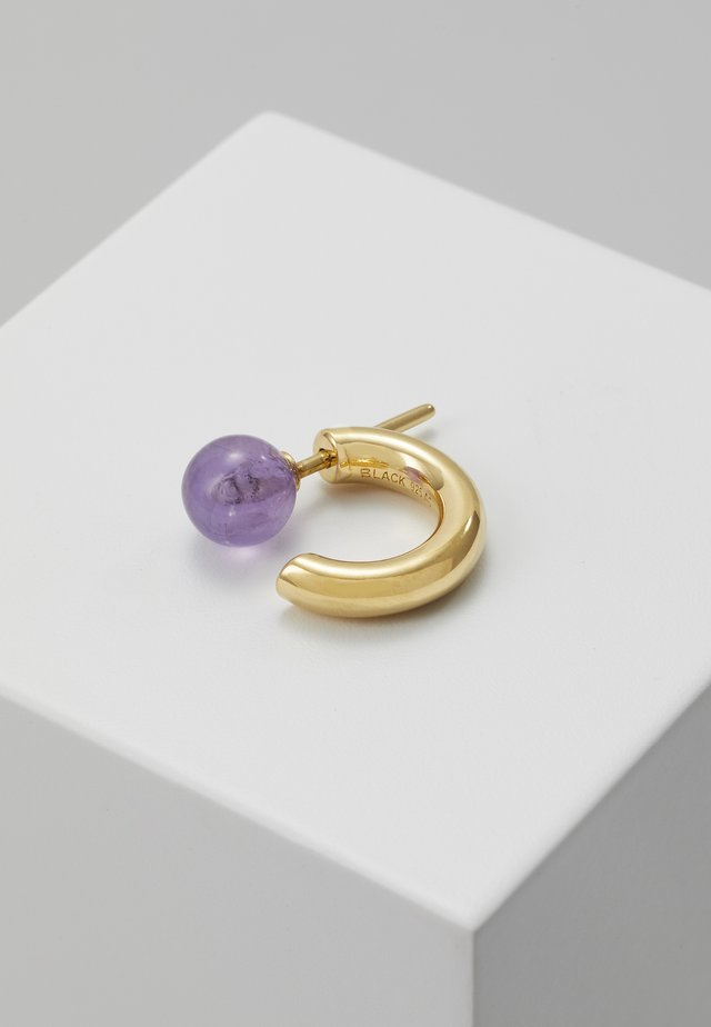 FRIDA EARRING - Earrings - gold-coloured/violet