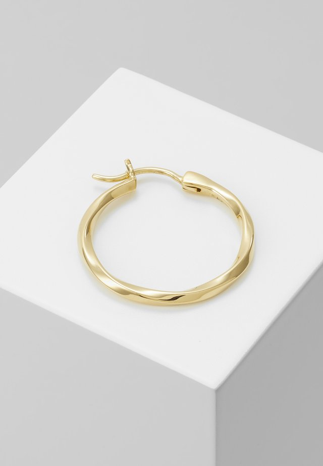 FRANCISCA HOOP SMALL EARRING - Korvakorut - gold-coloured