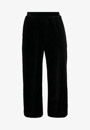 MOULAN - Spodnie materiałowe - black