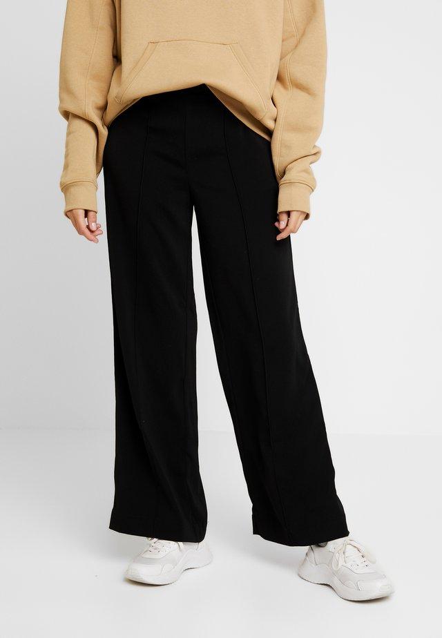 MOLENA - Trousers - black