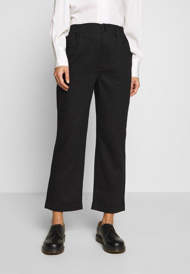 CIERRA - Trousers - black