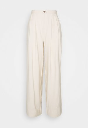 DANNIE - Trousers - oyster