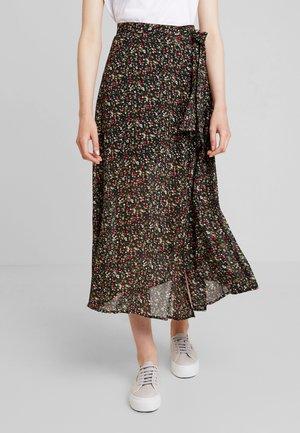 CABENA - Maxi skirt - black