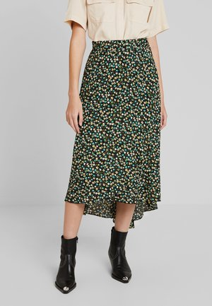 FELISHA - Wrap skirt - black