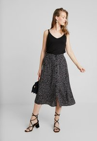 mbyM - HANNIE - A-line skirt - black