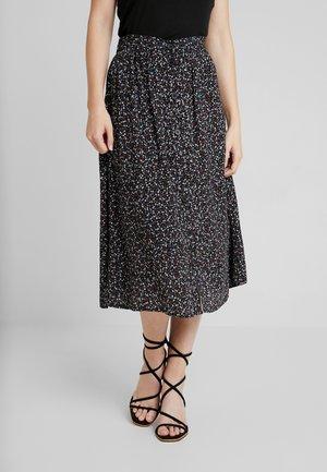 HANNIE - A-line skirt - black