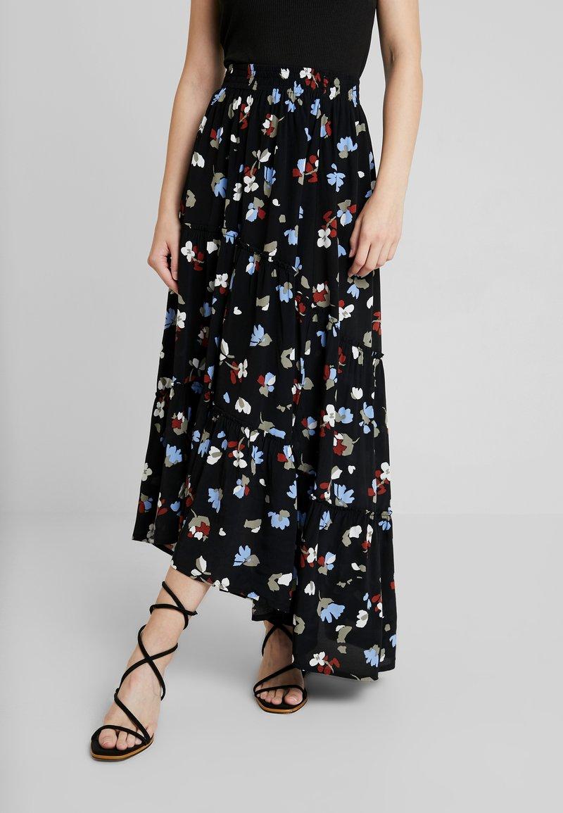mbyM - BOLINA - Maxi skirt - black