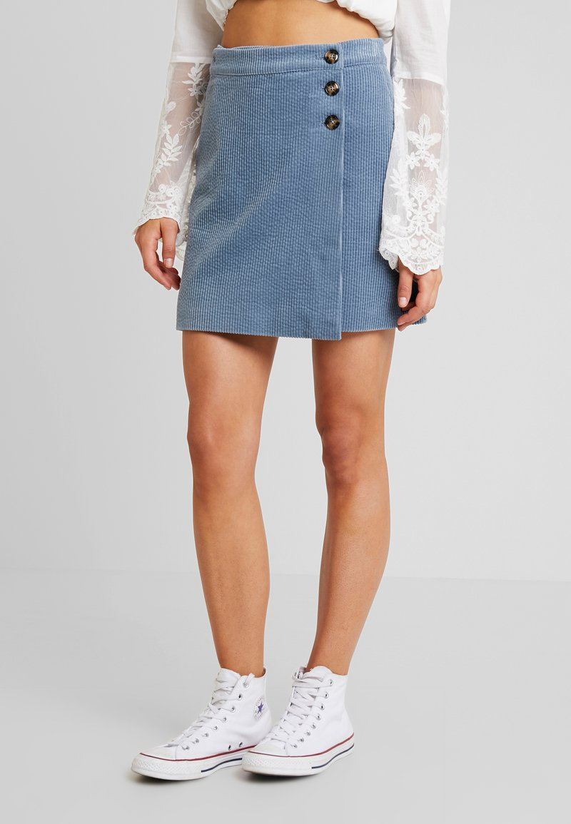 mbyM - MARLIE - A-line skirt - blue mirage