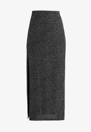 CHARLINN - Pencil skirt - black/sliver