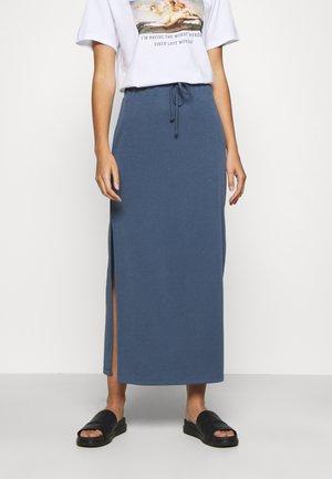 FLORRIE - Falda larga - vintage indigo