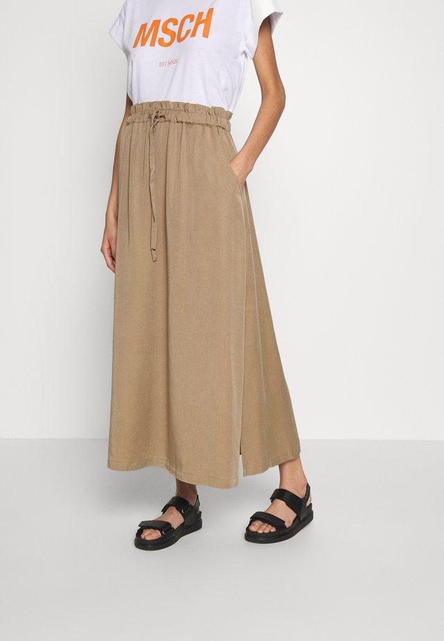KAMILA - Maxi sukně - twig