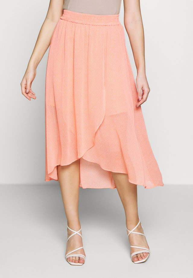 CAITLIN - A-line skirt - orange