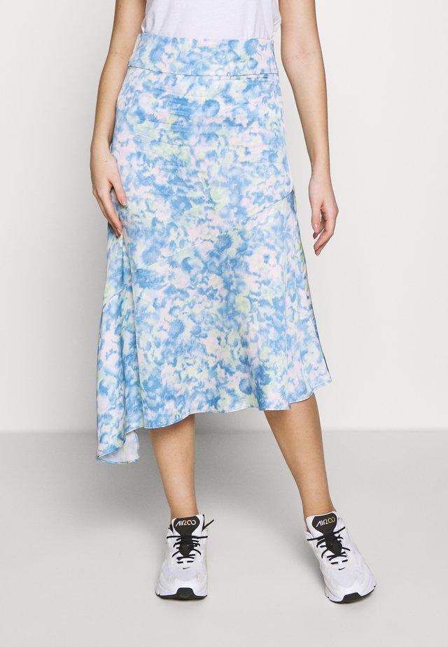 KINDRA - A-snit nederdel/ A-formede nederdele - blue