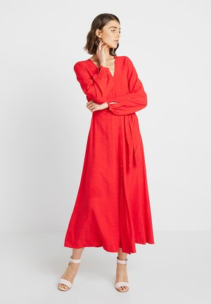 JORDEN - Robe longue - lollipop red