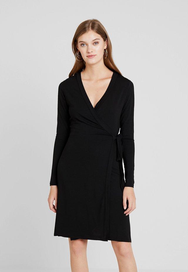 ANETTA - Jersey dress - black