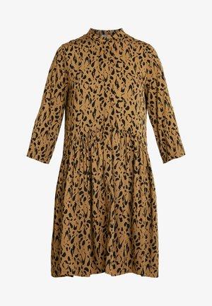 ALBANA - Denní šaty - brown/black