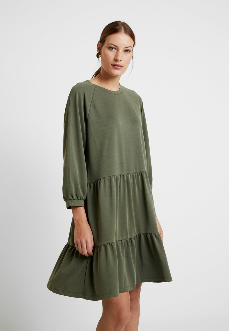 mbyM - JERRI - Jersey dress - green