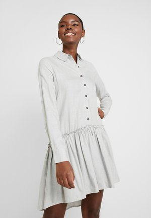 FREEDA - Shirt dress - light grey melange