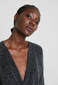 mbyM - FLORETTA - Jersey dress - black/sliver - 4
