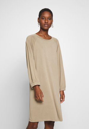 FEOLA - Jersey dress - twig
